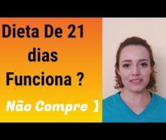 Dieta de 21 Dias do Dr. Rodolfo Aurélio Funciona