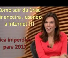 COMO SAIR DA CRISE FINANCEIRA, USANDO A INTERNET